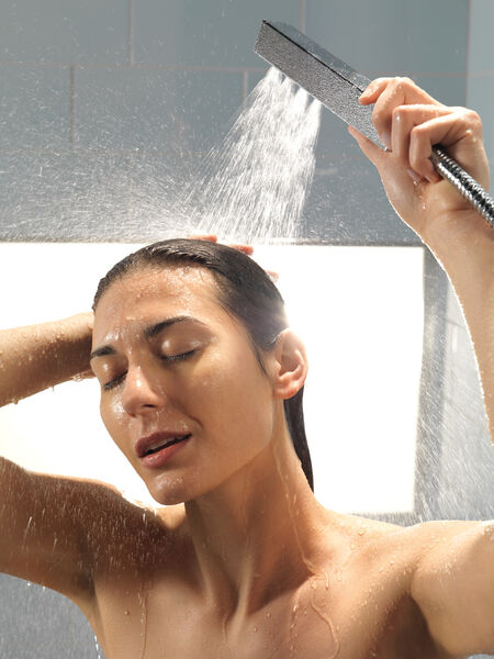 H<sub>2</sub>Okinetic® Single-Setting Adjustable Wall Mount Hand Shower, image 8