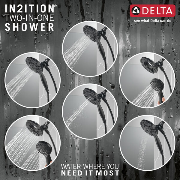 In2ition® 4-Setting Two-in-One Shower, image 3