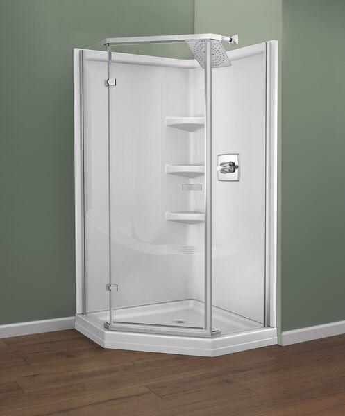 38'' Direct-to-Stud Corner Shower Wall Set, image 8