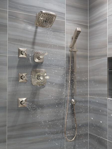 H<sub>2</sub>Okinetic® 4-Setting Slide Bar Hand Shower, image 9