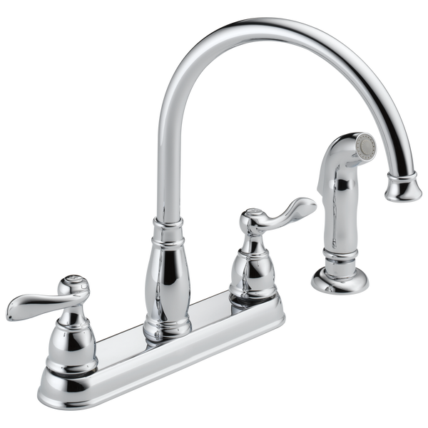 Two Handle Kitchen Faucet, image 1