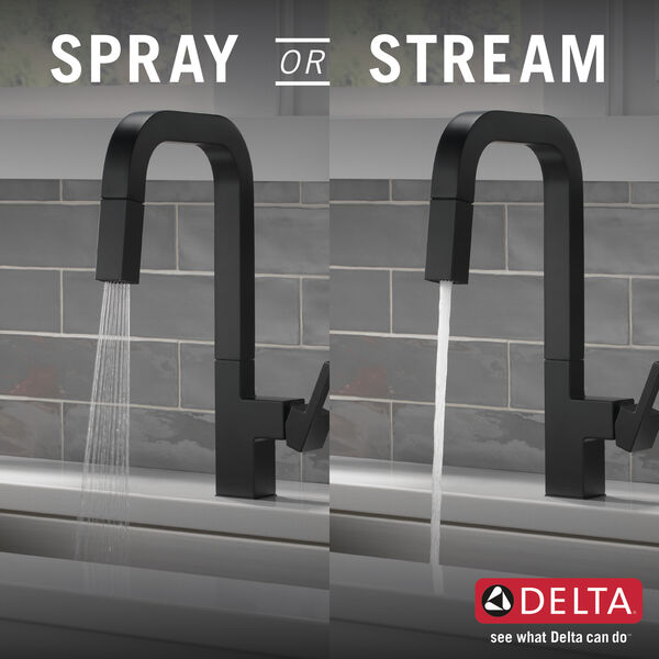 Single-Handle Pull-Down Kitchen Faucet, image 5