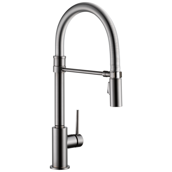 Single Handle Pull-Down Kitchen Faucet With Spring Spout, image 1