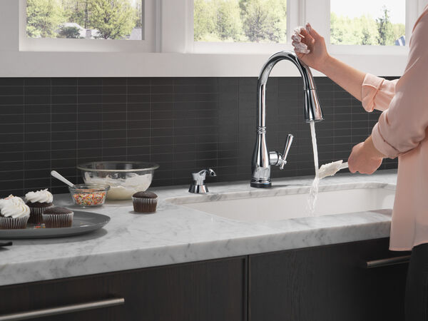 Single Handle Pull-Down Kitchen Faucet with Touch2O® and ShieldSpray® Technologies, image 5