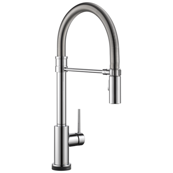 Single Handle Pull-Down Spring Spout Kitchen Faucet with Touch<sub>2</sub>O® Technology, image 1
