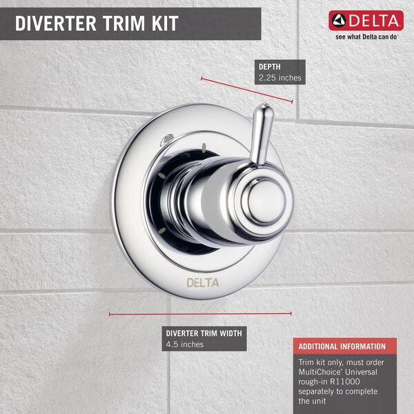 3-Setting 2-Port Diverter Trim, image 2