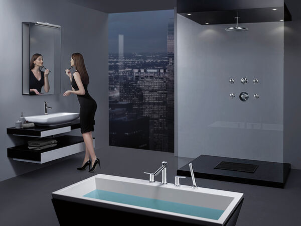 Single Handle Bathroom Faucet with Touch<sub>2</sub>O.xt® Technology, image 17