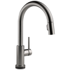 Single Handle Pull-Down Kitchen Faucet with Touch