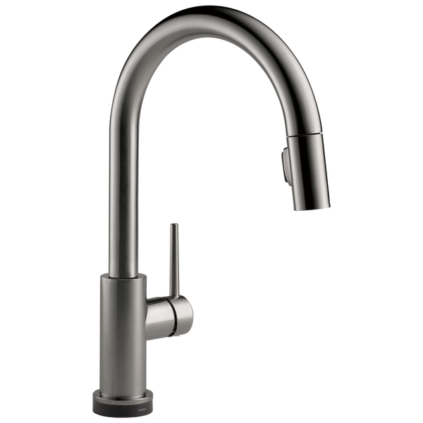 Single Handle Pull-Down Kitchen Faucet with Touch, image 1