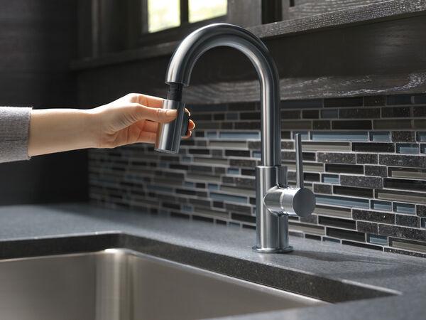 Single Handle Pull-Down Bar / Prep Faucet, image 14