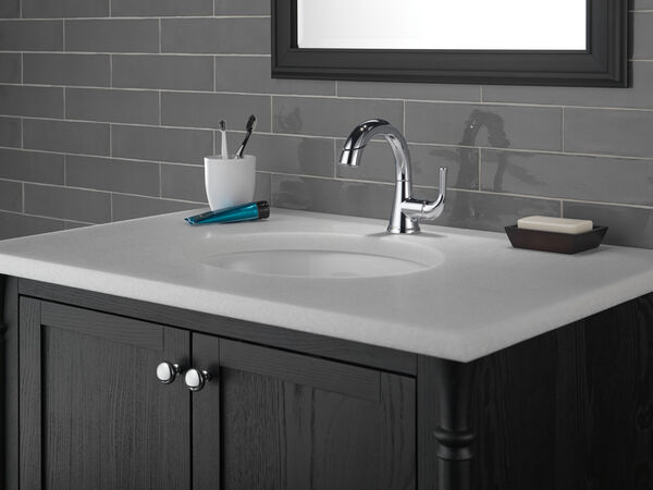 Single Handle Pull-Down Bathroom Faucet, image 14