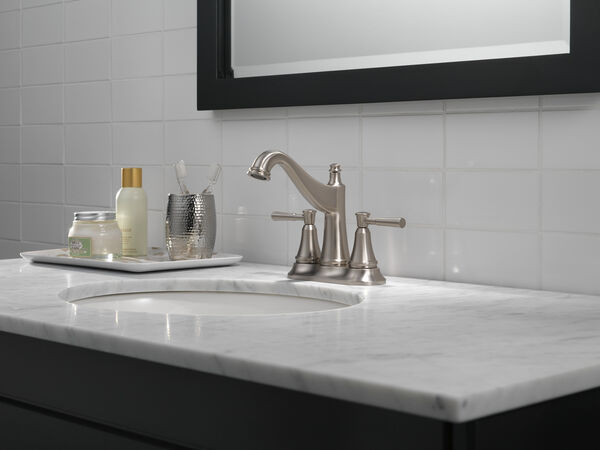 Two Handle Centerset Bathroom Faucet, image 6
