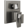 Two-Handle Monitor 17 Series Valve Trim with 3-Setting Diverter