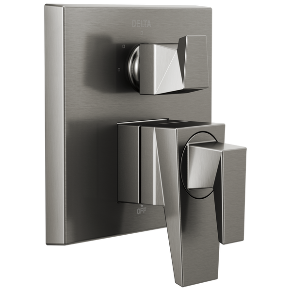 Two-Handle Monitor 17 Series Valve Trim with 3-Setting Diverter, image 1
