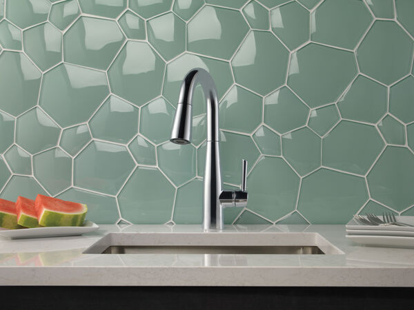 Single Handle Pull-Down Bar / Prep Faucet, image 6