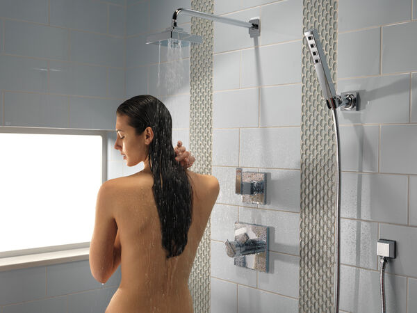 H<sub>2</sub>Okinetic® Single-Setting Adjustable Wall Mount Hand Shower, image 19