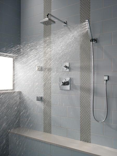 H<sub>2</sub>Okinetic® Single-Setting Raincan Shower Head, image 4