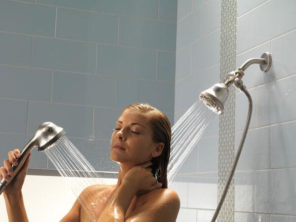 Shower Arm & Flange, image 2