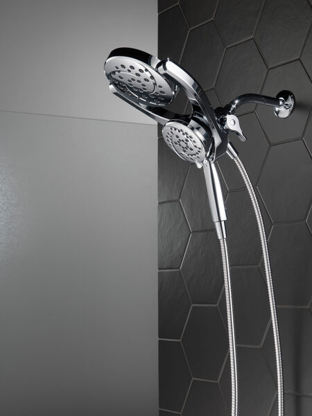 HydroRain® 4-Setting Two-in-One Shower Head, image 23