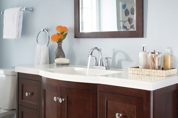 Two Handle Centerset Bathroom Faucet, image 5