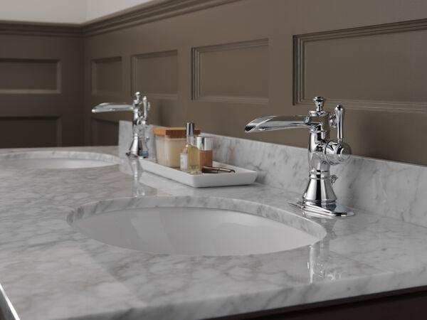 """Escutcheon w/ Gasket - 4"""" - 1 Hole Bathroom & Bar, image 3"""