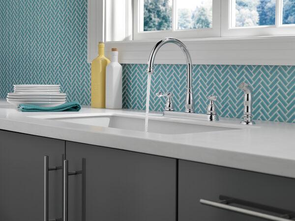 Two Handle Kitchen Faucet, image 4