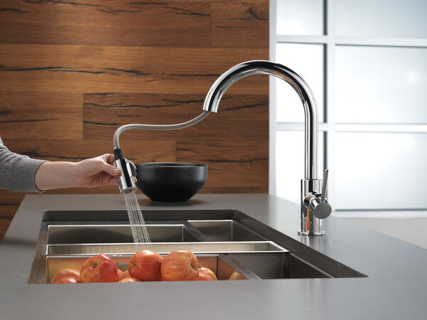 Single Handle Pull-Down Kitchen Limited Swivel, image 5
