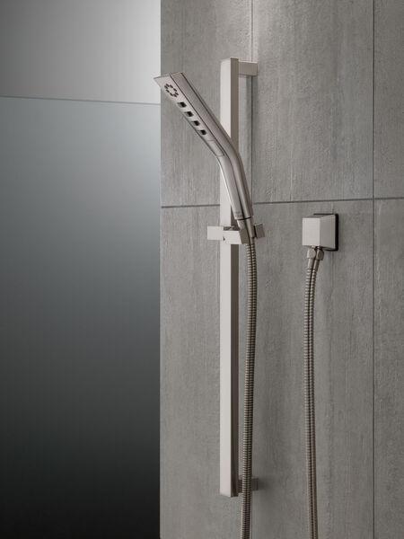H<sub>2</sub>Okinetic® 3-Setting Slide Bar Hand Shower, image 9