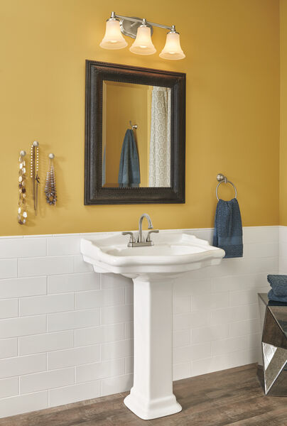 Two Handle Centerset Bathroom Faucet Stackout, image 2