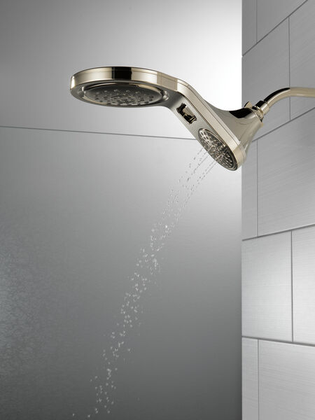 HydroRain® 5-Setting Two-in-One Shower Head, image 11