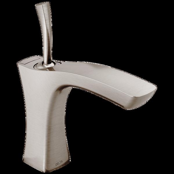 Single Handle Bathroom Faucet - Metal Pop-Up, image 1