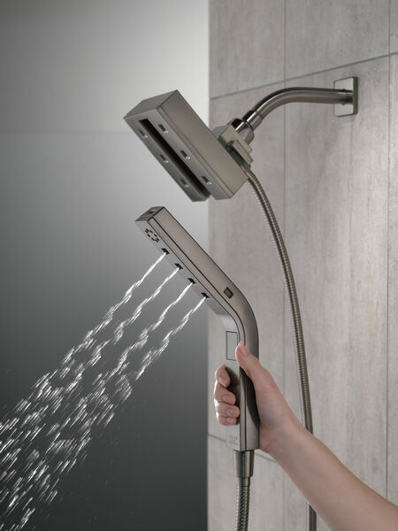 H2Okinetic® In2ition® 4-Setting Two-in-One Shower, image 4