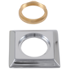 Handle Base, Nut & Gasket - Roman Tub