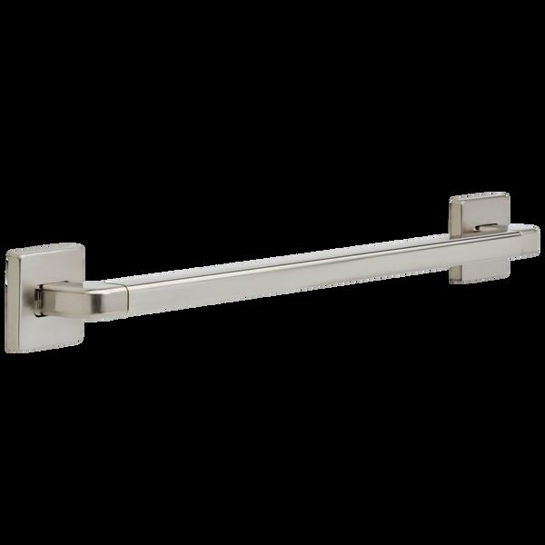 "24"" Angular Modern Decorative ADA Grab Bar, image 1"