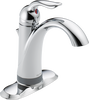 Single Handle Bathroom Faucet with Touch<sub>2</sub>O® Technology