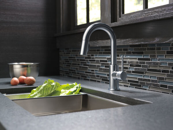 Single Handle Pull-Down Bar / Prep Faucet, image 12