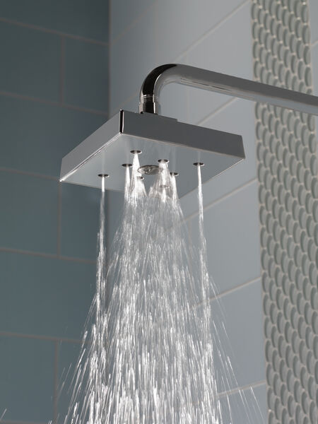 H<sub>2</sub>Okinetic® Single-Setting Raincan Shower Head, image 2