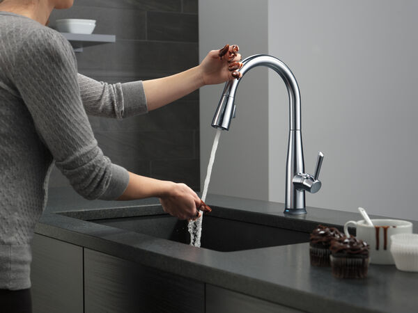VoiceIQ™ Single Handle Pull-Down Faucet with Touch20® Technology, image 7