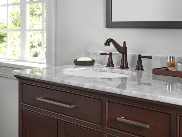 Two Handle Widespread Bathroom Faucet, image 4