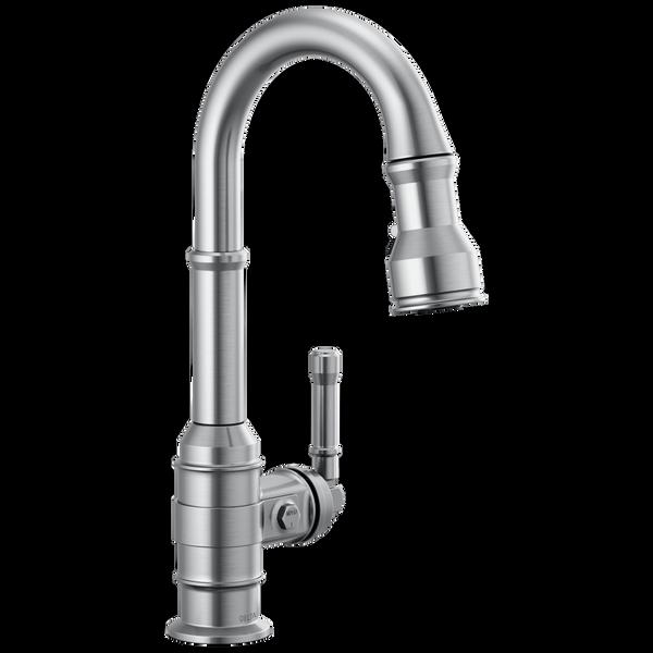 Single Handle Pull-Down Bar/Prep Faucet, image 1