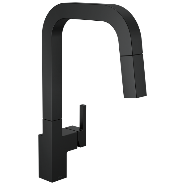 Single-Handle Pull-Down Kitchen Faucet, image 1