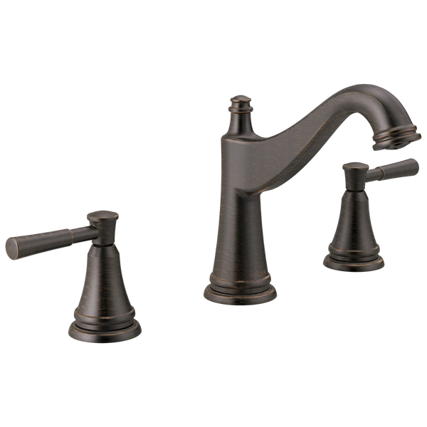 Two Handle Widespread Bathroom Faucet, image 1