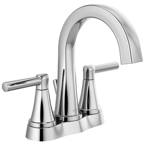 Two Handle Centerset Bathroom Faucet, image 1