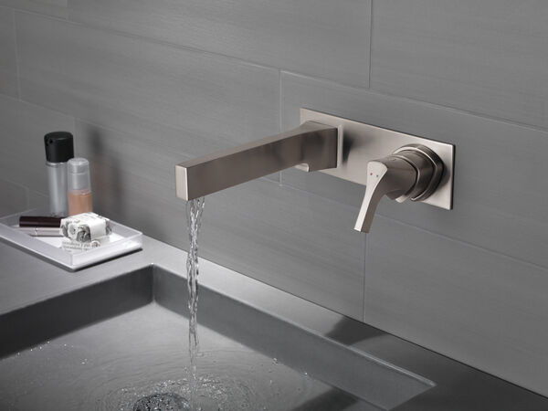 Single Handle Wall Mount Bathroom Faucet Trim, image 3