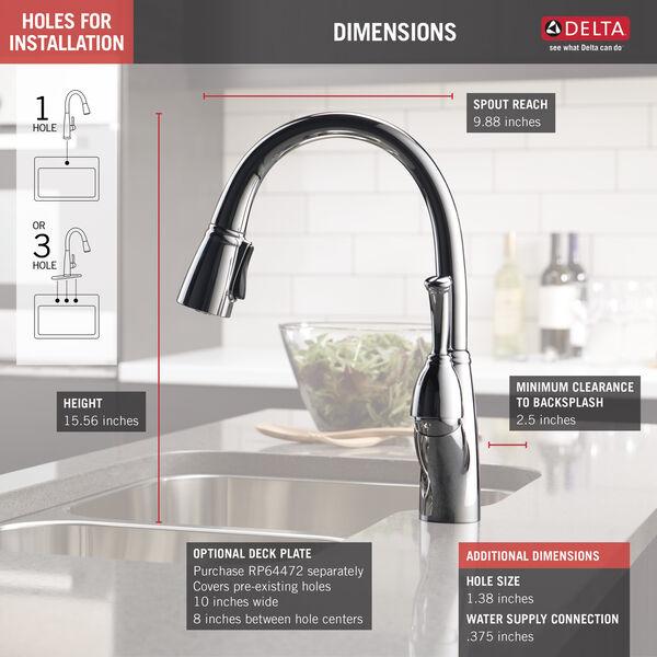 Chrome Delta Faucet RP47667 Allora Aerator
