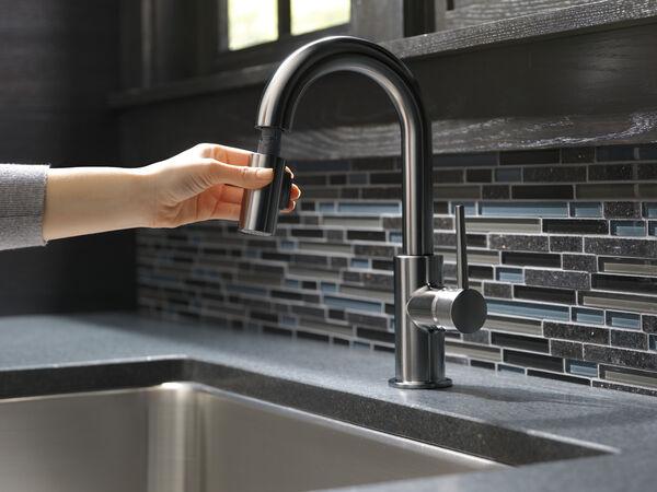 Single Handle Pull-Down Bar/Prep Faucet, image 7