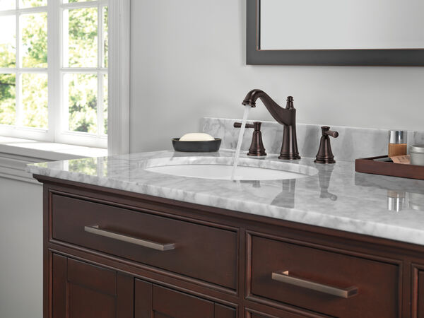 Two Handle Widespread Bathroom Faucet, image 3