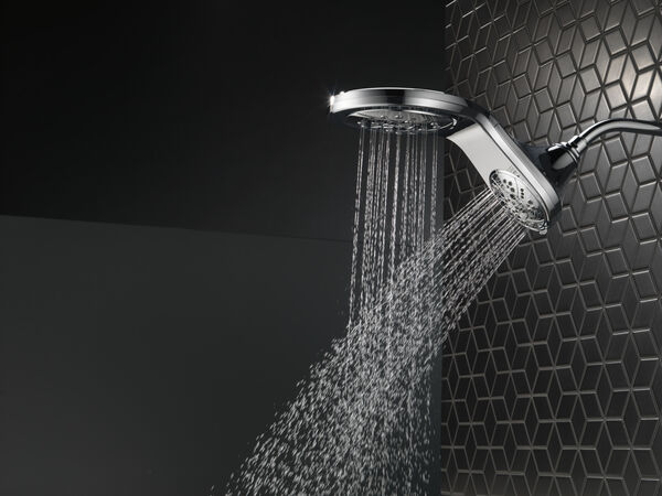 HydroRain® H<sub>2</sub>Okinetic® In2ition® 5-Setting Two-in-One Shower, image 31