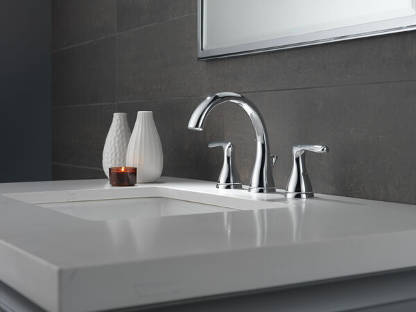 Two Handle Widespread Lavatory Faucet, image 4
