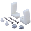 Concealed Trapway Mounting Hardware (White)